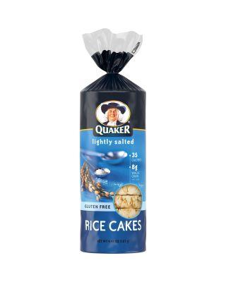 Rice Cakes - Lightly Salted Quaker® 12/4.47oz / Ou