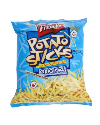 Potato Sticks French's 12/16 oz bags