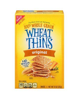 Wheat Thins Crackers 12/9.1 oz Nabisco®