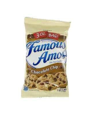 Famous Amos Cookies 60ct 3oz