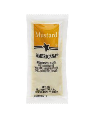 Mustard Yellow Portion Packs 500ct