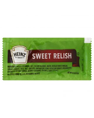 Relish Sweet Portion Packs Heinz 200ct