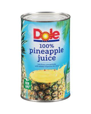 Juice -Pineapple Rtu 12/46 oz Aseptic Pack