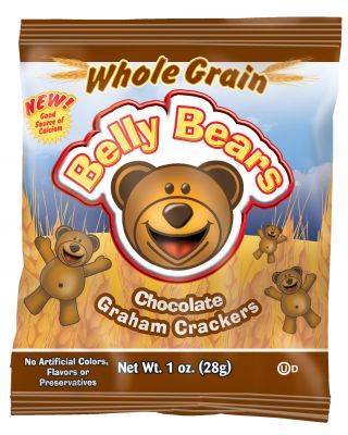 Belly Bear 51%Whole Grain Chocolate Graham 200/1oz
