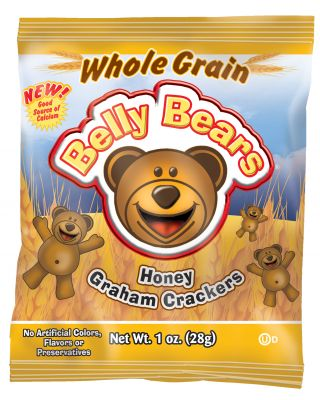 Belly Bear 51%Whole Grain Honey Grahams 200/1oz