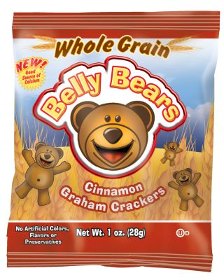 Belly Bear 51%Whole Grain Cinnamon Grahams 200/1oz