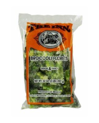 Broccoli Florets, Frozen, 24  pounds