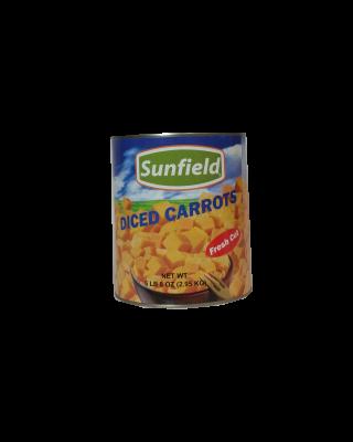 Carrots Diced, Frozen, 12/2  pounds