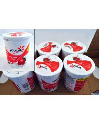 Strawberry Yogurt Lo Fat Yoplait 6/32oz