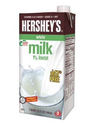 Shelf Stable 1% Milk 12/1Qt Hershey's®