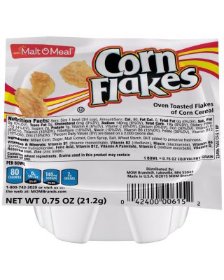 Single Serve Bowls - Corn Flakes 96/.75 oz