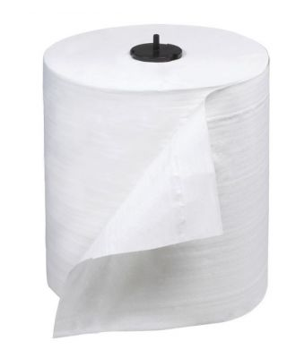 """Torkmatic Roll Towel 1-Ply White 7.9""""X900' Rolls #290095"""