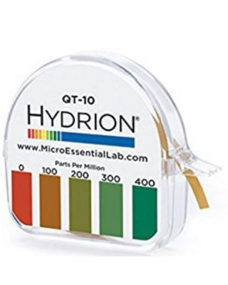 Sanitizer Test Strips Hydrion® 25ct