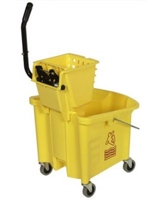 Mop Bucket With Wringer 26 Quart Rubbermaid
