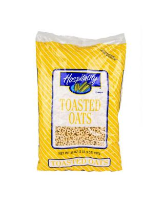 CEREAL:TOASTED OATS W.G. 4/35 OZ HOSPITALITY