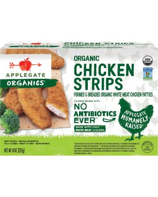 Organic Chicken Tenders F.C.  12/8 oz  Applegate
