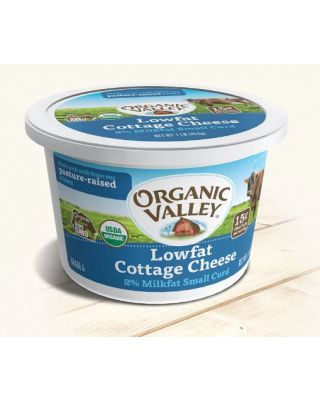 Organic Cottage Cheese Low Fat 6/16 oz Organic Valley