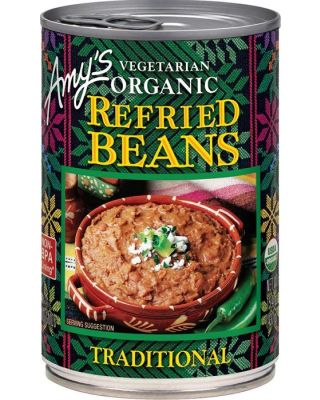 Organic Refried Beans  12/15.4 oz  Amy's