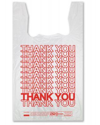 Thank You T Shirt bags 1000ct